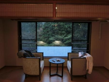 可看到山景的民宿真奈邸箱根