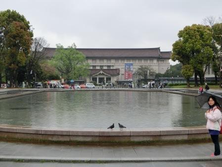 最後去了位於上野的東京國立博物館