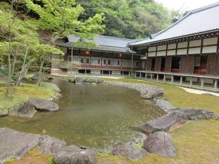 圓覺寺的庭園一角